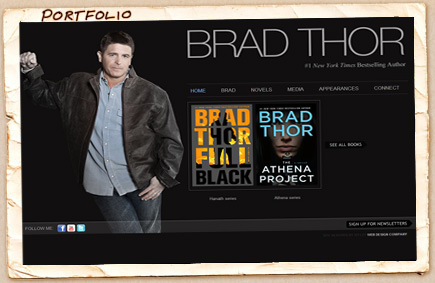 Brad Thor - New York Times Bestselling Author
